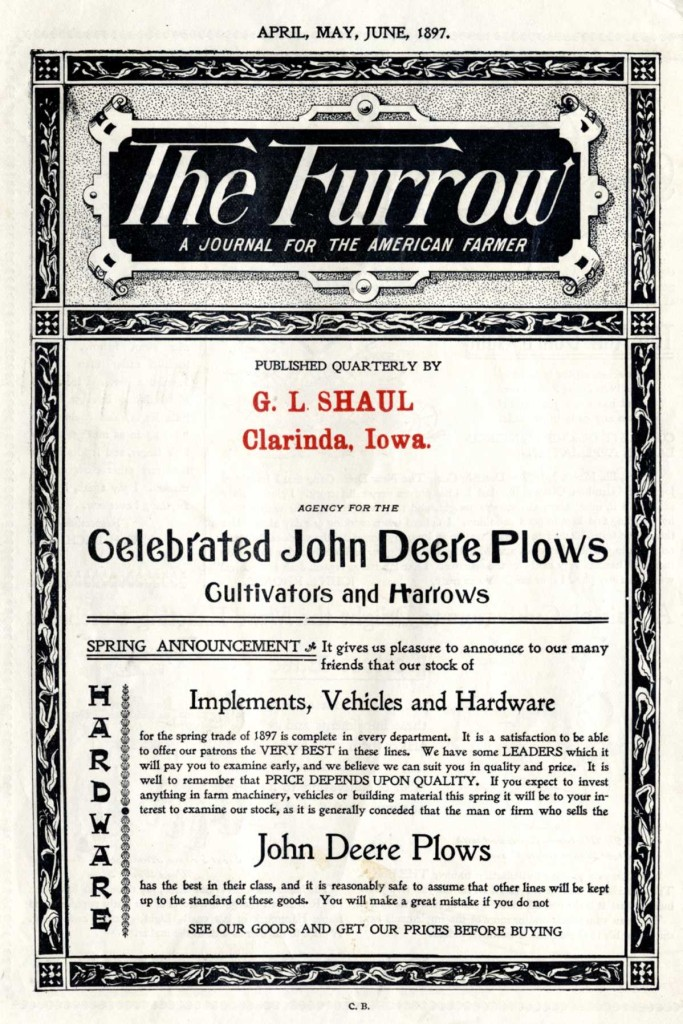 1897_Furrow_Front_Page_1897